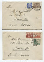 Group of 4 1930s Germany covers with B107-B114 [y2536]
