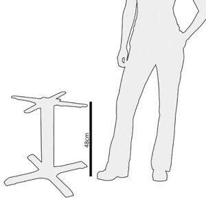 Bolero Cast Iron Coffee Table Leg Base 48cm   Base Indoors Low Height