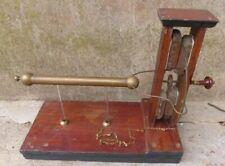 Machine de Ramsden XIXe - électricité électrostatique