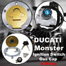 Ignition Switch Gas Cap Cover Seat Lock Set For Ducati 916 996 998 748 1997-2002