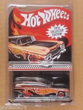 2014 Hot Wheels Mail in Promo Kmart 59 CADILLAC FUNNY CAR 3/4 Black Orange