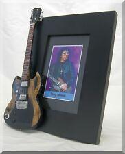 TONY IOMMI  Miniature Guitar Frame Black Sabbath