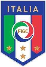 """Italian Football Federation Italy Soccer Car Bumper Sticker Decal 4""""X5"""""""