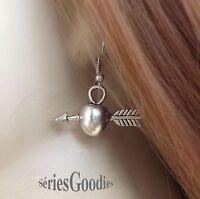 Bijoux Celtiques Gothiques Médiévaux Elfiques boucles d'oreilles Pomme et fleche