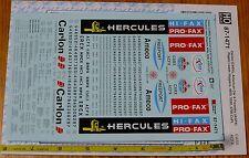 Microscale Decal #87-1471 Carlon (CARX), American Car & Foundry (AGFX) Plastic L