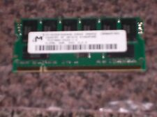 MICRON  512MB DDR PC2700  200PIN  16CHIP SODIMM LAPTOP RAM LOW DENSITY