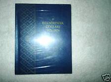 Whitman Bookshelf Album #9590 for Eisenhower Dollars