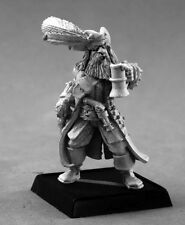 CAPTAIN KERDAK BONEFIST - PATHFINDER REAPER miniature rpg jdr metal pirate 60137