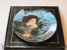 Mimi collector plate 38-P63-1.2 1986 Coa Box Riccardo Benvenuti Bradford #%