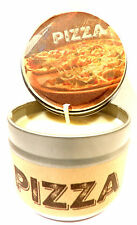 Pizza Handmade 4oz Tin Soy Candle Easy to take it anywhere