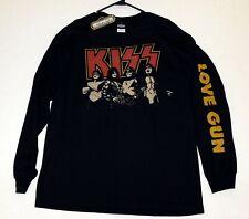 KISS Band Love Gun Gene Ace Peter Paul Long Sleeve Shirt Winterland UNWORN 2006