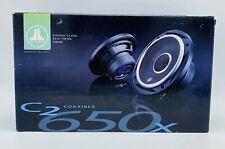 "JL Audio C2-650X Evolution™ Series 6-1/2"" 2-way car speakers NEW WITH BOX"