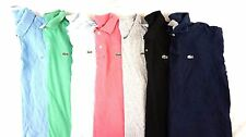 LACOSTE Lot of 7 Men's Casual Short Sleeve Polo Shirts US: 2XL  EUR: 7
