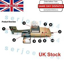 HSPT Golden Rainbow 10+ Cigarette Injector Rolling Tobacco Machine  UK STOCK