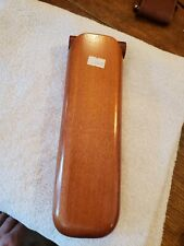 cedar wooden cigar travel case NEW 9.5 inches
