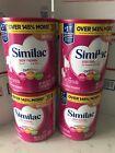 LOT OF 4 Similac Soy Isomil Infant Formula Powder with Iron - 30.8oz