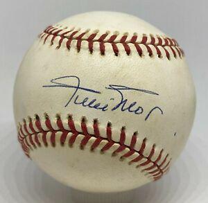 Willie Mays Single Signed Baseball Autographed AUTO PSA/DNA COA Giants HOF