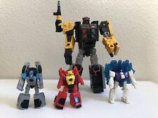 Transformers Earthrise IRONWORKS & SOUNDBARRIER War For Cybertron Lot 4