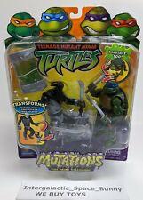 2004 Teenage Mutant Ninja Turtles Mutations Foot Soldier & Leonardo MOSC TMNT