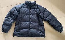 Kathmandu Ladies Black Goose Down Puffer Jacket Size 16 Excellent Condition