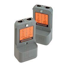 ** leves segundos Ganga ** Rj45 Bi comunicaciones probador de cable de servicio pesado.