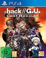 .hack // G.U. Last Recode Sony PlayStation 4 Game Spiel Drama und Spannung Neu