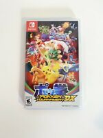 Nintendo Switch Pokken Tournament DX Pokemon Fighting CASE ONLY NO Game Cart