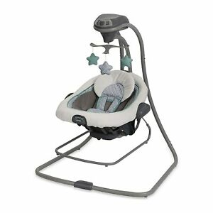 Graco DuetConnect LX Baby Swing and Bouncer + FREESHIP