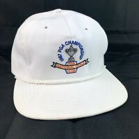 Vintage Texace 1987 PGA Championship Golf Hat Towel Lined National Golf Club Vtg