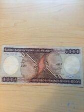 5000 Mil Cruzeiros Banco Central Do Brasil Obsolete Paper Money of Brazil
