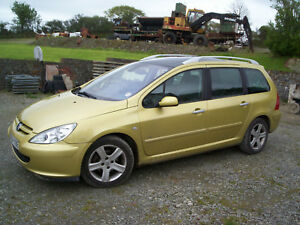 """""""Breaking"""" Peugeot 307 SW Estate 2.0HDI (90) Used road wheel bolt """"Spares"""""""