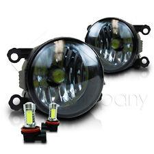 For 2008-2009 Ford Taurus X Replacement Fog Lights w/COB Bulbs - Smoke