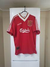 ADIDAS LIVERPOOL FC SIZE L 1995 / 96 jersey football kit home shirt rare