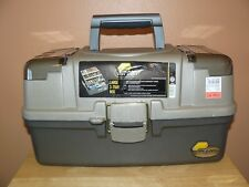 Plano 6134-03 Large 3-Tray Tackle Box with 2 Top Access Compartments