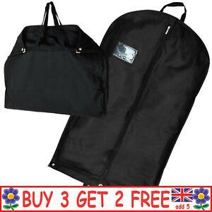 "40"" Foldable Black Suit Cover Clothes Bag Breathable Garment Travel Storage Bags"