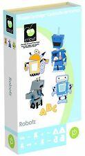 NEW! Cricut Robotz cartridge!!  Includes 3-D images & a Font!!  Retired!
