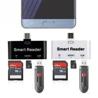 USB C Type C to SD TF/ MICRO SD Card Reader USB 3.0 OTG HUB Adapter Combo PC