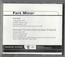 Fort Minor Petrified / Remember The Name CD Promo Machineshop