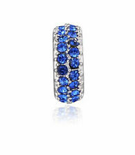 hot European Silver CZ Charm Beads Fit sterling 925 Necklace Bracelet Chain bl3b
