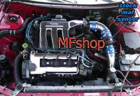 Blue For 1993-1997 Ford Probe GT Mazda MX6 626 2.5L L4 Cold Air Intake Kit