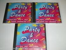 3 CD Set Festa & Dance Modern Talking Blue System Londonbeat Snap Boney M. off