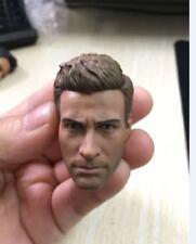 Custom Jake Gyllenhaal 1/6 Head Sculpt for Hot Toys TTM19 Muscular Body