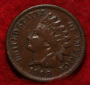 1908-S San Francisco Mint  Indian Head Cent