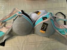 NEW  ladies SOLID  cute push- up... bras ..lot of 3 bras