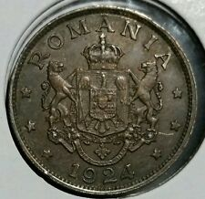 Romania 1924  2 Lei  Mihai I. Scarce