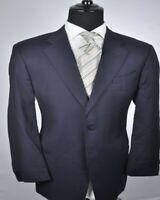 ARMANI Collezioni Navy Modern 2Btn Suit 44L 44 L