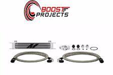 Mishimoto Universal 10 Row Oil Cooler Kit (Metal Braided Lines) MMOC-U