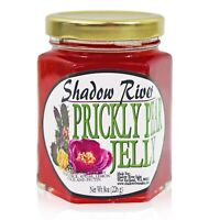 Shadow River Gourmet Prickly Pear Jelly From Real Cactus Fruit Juice, 8 oz Jar