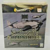 Luftwaffe Commander: WWII Combat Flight CDROM Game Windows PC Big Box New Sealed
