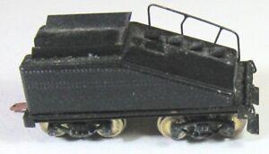 Brass Slope Back Tender HO Scale 1950's-1960's